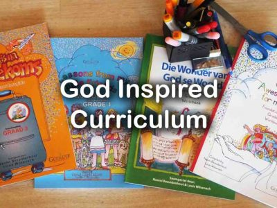 God Inspired Curriculum grade 1- 7